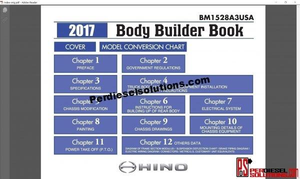 Hino Trucks workshop manual 2017 pdf