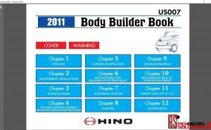 Hino Trucks workshop manual ewd 2011
