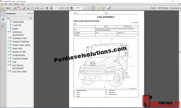 Hino Trucks workshop manual ewd 2012 pdf