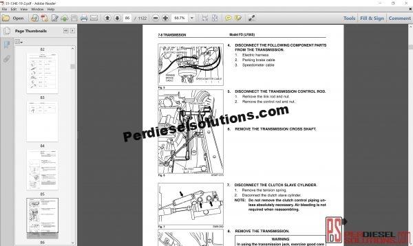 Hino Trucks workshop manuals 2004