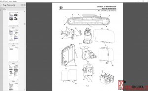 JCB JS160, JS180 Service manual & repair manual