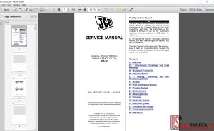 JCB Loadall 505-20 service repair manual
