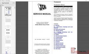 JCB Loadall 508-66, 509-45, 510-44, 510-55 service manual
