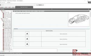 Lexus Body Repair Manual & wiring Diagram