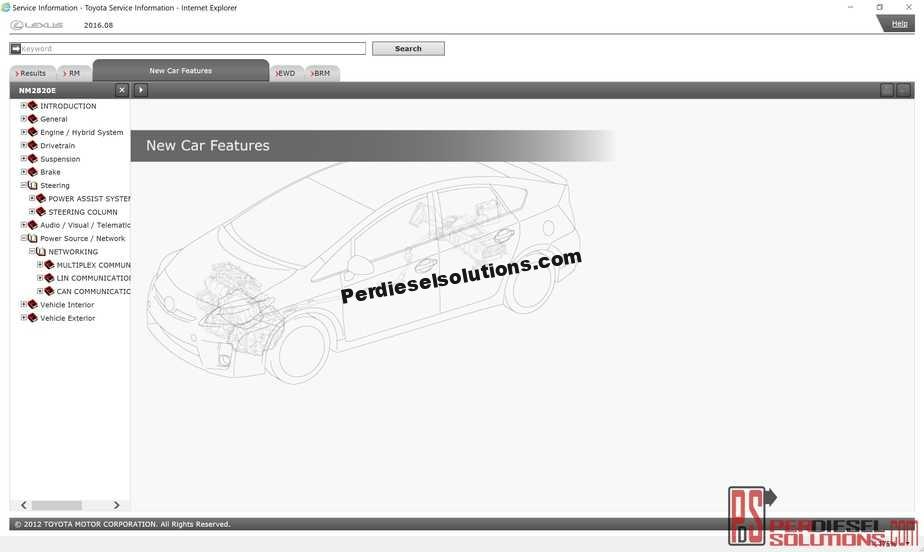 Lexus Service Information  2015