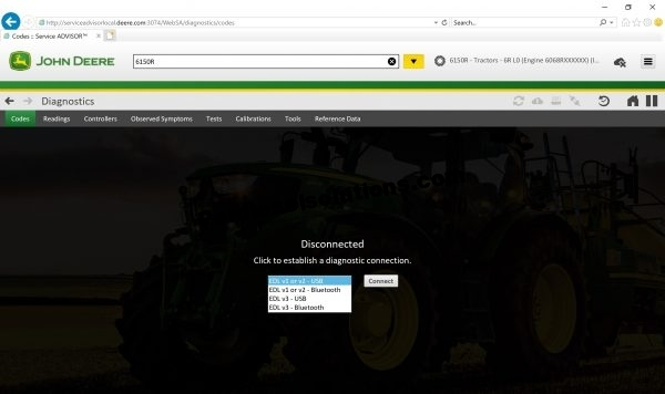Service Advisor 5.2 agricultura y cesped
