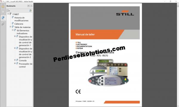 Still Forklift Truck Workshop Manual pdf