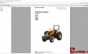 Valtra UK 07.2019 Parts Books & Workshop manual