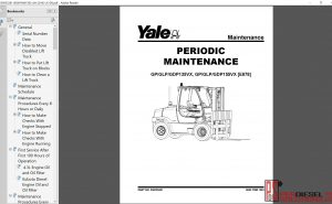 Yale Forklift class 5 repair manual 2019