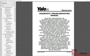 Yale forklift class 4 repair manual 2019