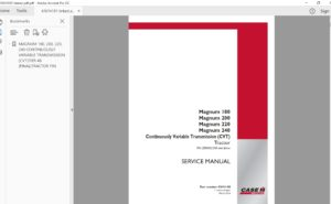Case Construction and Agriculture Full Set Service Manual