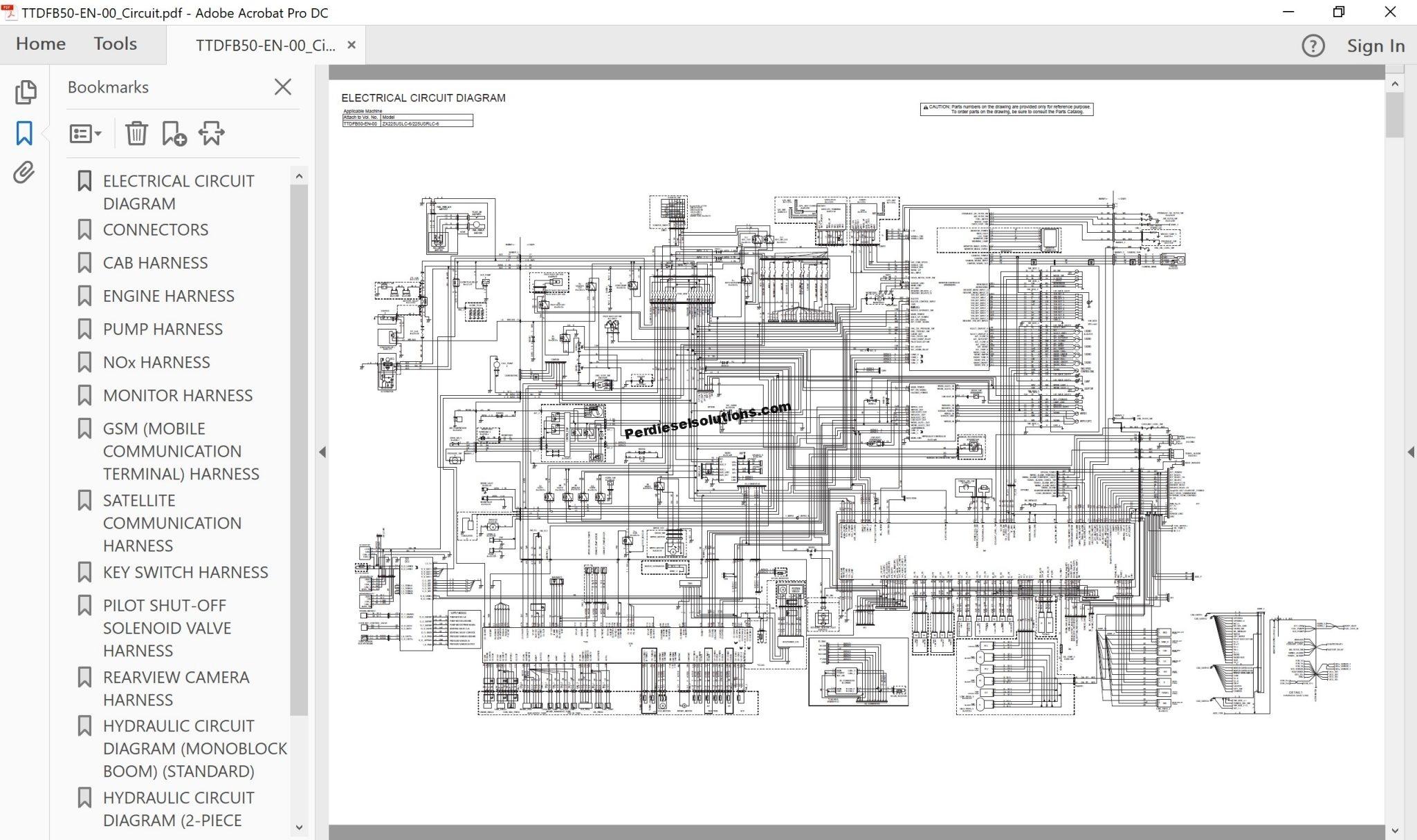 Hitachi Hidraulic Excavator ZX-6 Series Workshop Manual